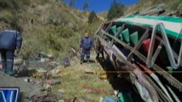 video de accidente de transito en cajatambo